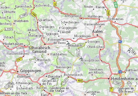 Carte-Plan Heubach