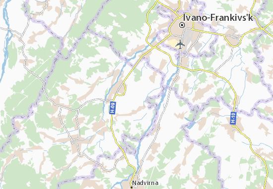 Mapas-Planos Pokhivka