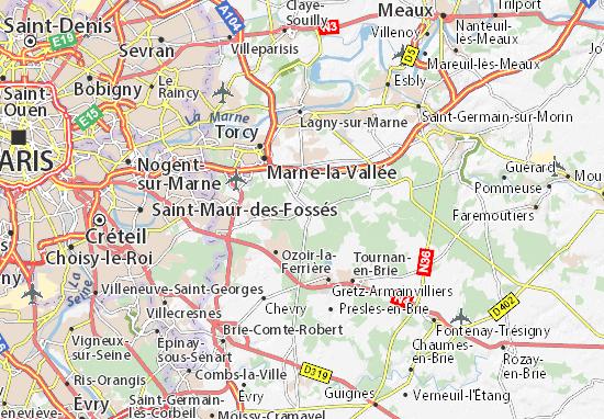 Carte-Plan Pontcarré