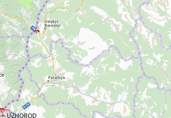 Smerekovo Map