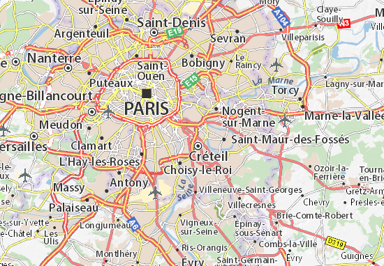 Maisons-Alfort Map