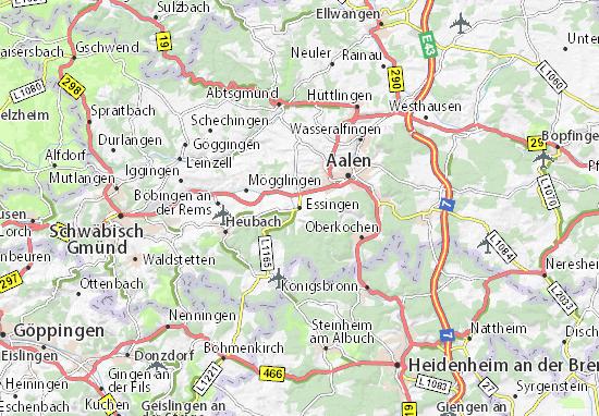 Carte-Plan Essingen