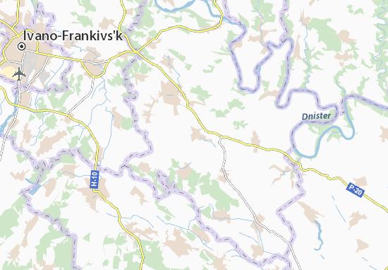 Carte-Plan Hrushka