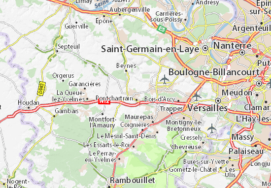 Carte-Plan Neauphle-le-Château