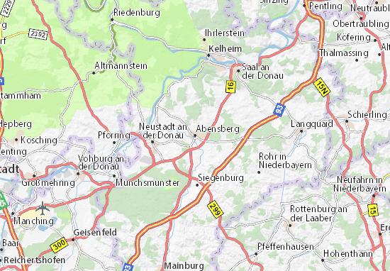Mapas-Planos Abensberg