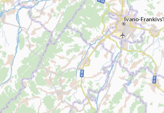 Mapas-Planos Stari Bohorodchany