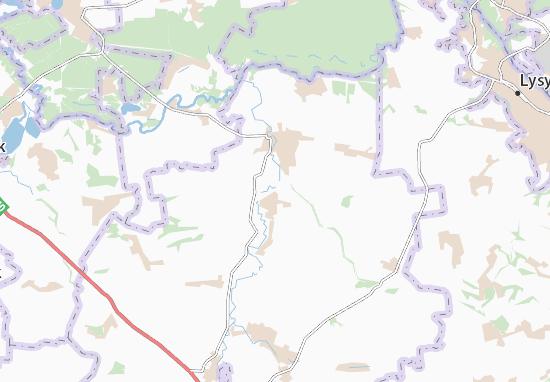 Zvanivka Map