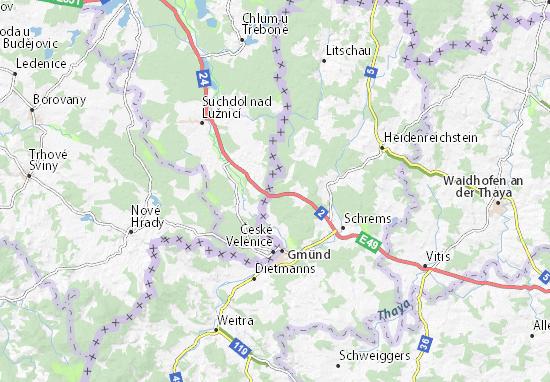 Neunagelberg Map