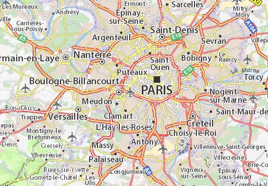 Carte D Taill E Porte De Versailles Plan Porte De