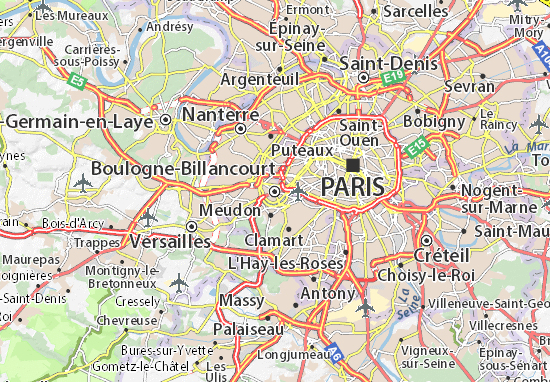 Boulogne-Billancourt Map