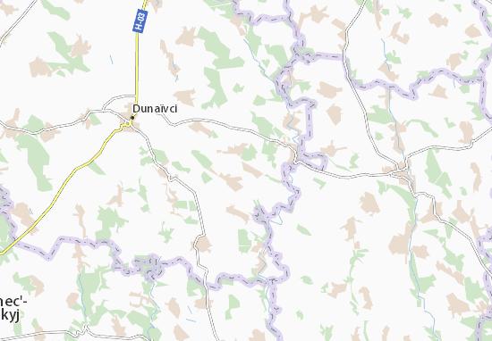 Mala Pobiyanka Map