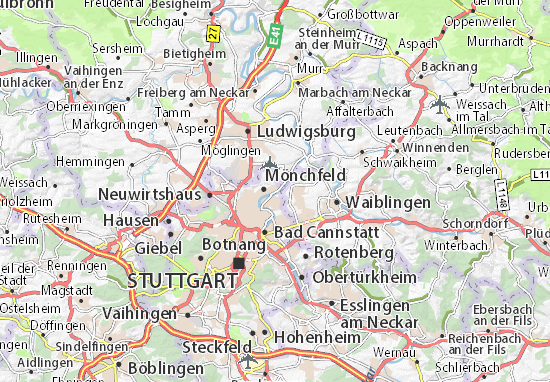 Mappe-Piantine Mühlhausen