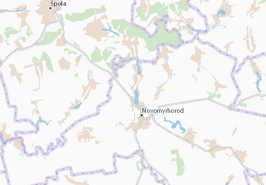Mapas-Planos Lystopadove