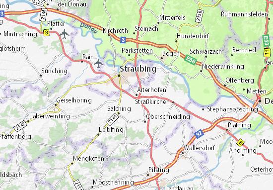 Aiterhofen Map
