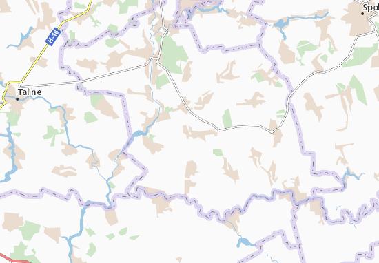 Mapas-Planos Honcharykha