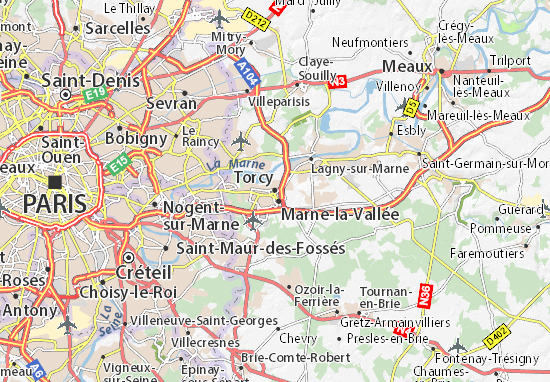 Mapas-Planos Torcy