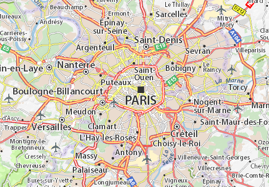 Carte-Plan Paris 06