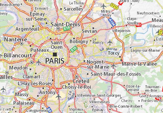 Fontenay-sous-Bois Map