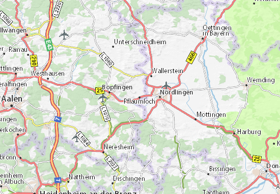 Riesbürg Map