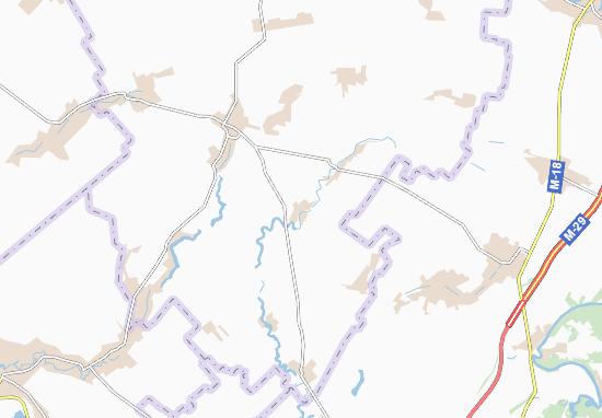 Carte-Plan Polyvanivka