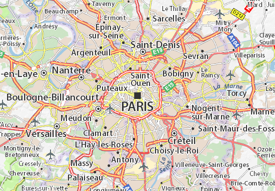 Carte-Plan Paris 04