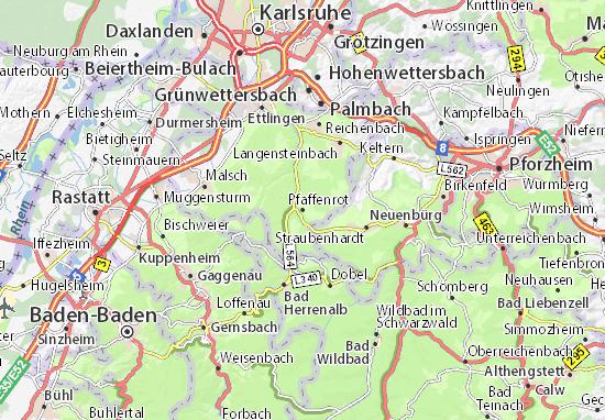 Mapas-Planos Pfaffenrot