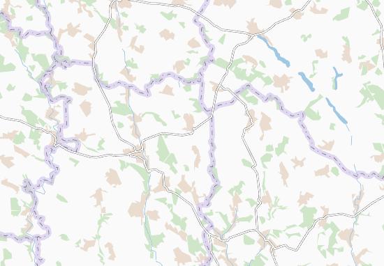 Zamikhiv Map