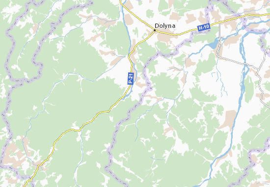 Carte-Plan Pidlisky
