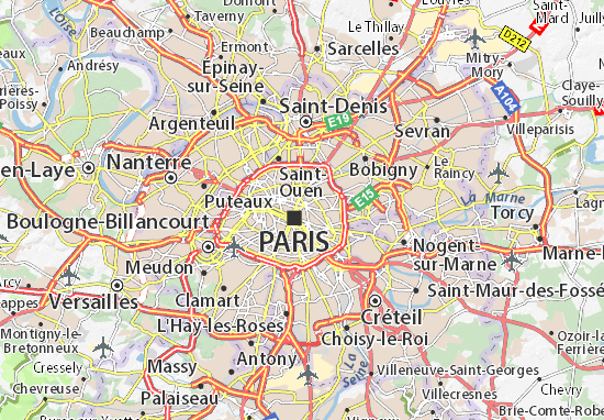 Carte-Plan Paris 03