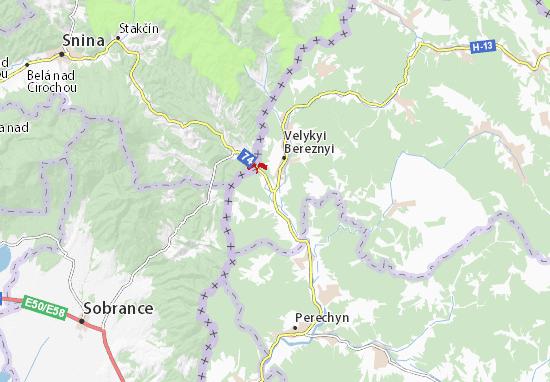 Malyi Bereznyi Map