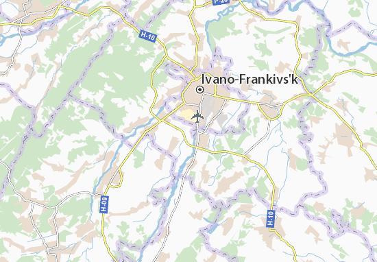 Mapas-Planos Chukalivka