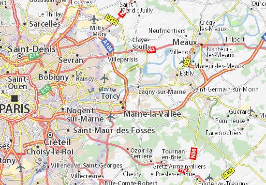 map of saint thibault des vignes michelin saint thibault des vignes map viamichelin. Black Bedroom Furniture Sets. Home Design Ideas