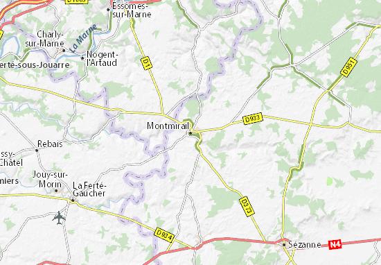 Mappe-Piantine Montmirail
