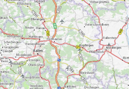 Carte-Plan Lauchheim