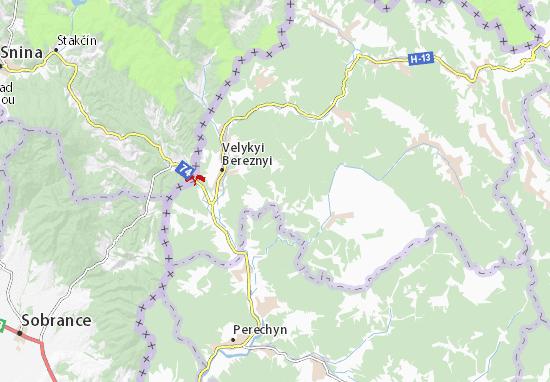 Roztots'ka Pastil' Map