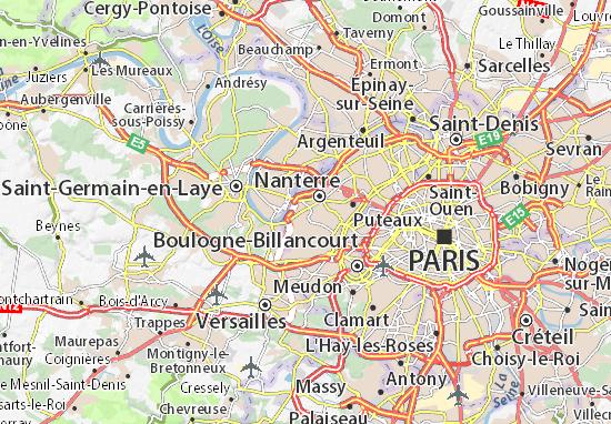 Rueil-Malmaison Map