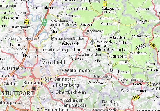 Winnenden Map