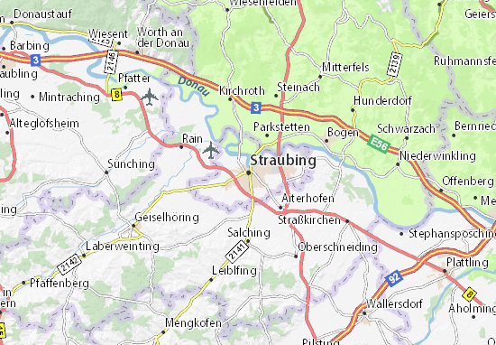 Straubing Map