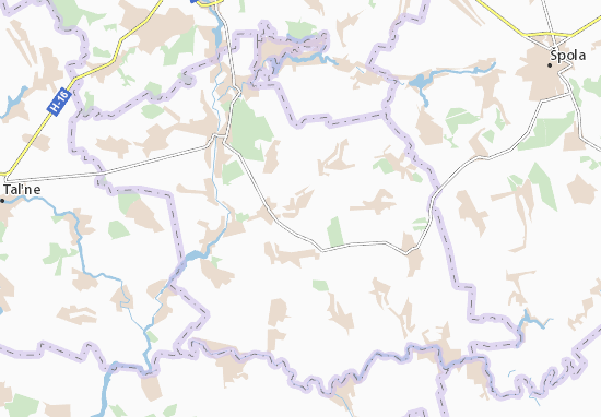 Carte-Plan Kaitanivka