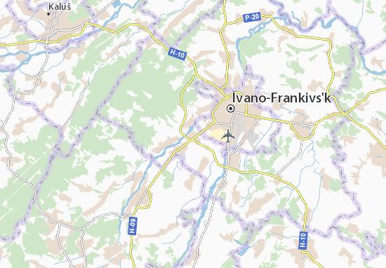 Mapas-Planos Drahomyrchany