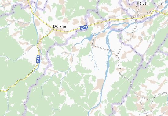 Mapas-Planos Yasenovets'
