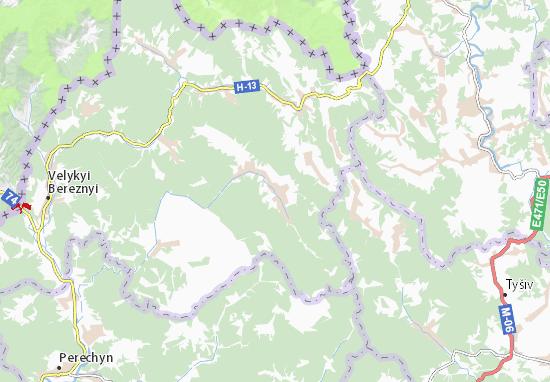 Ljuta Map
