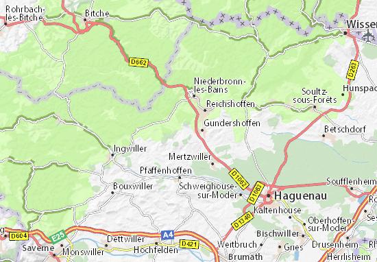 Carte-Plan Gumbrechtshoffen