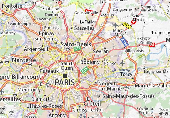 Mapas-Planos Bobigny