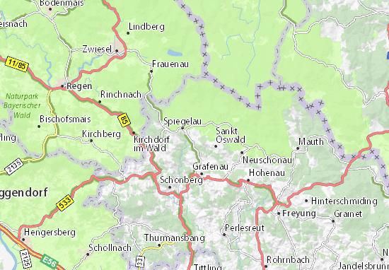 Riedlhütte Map