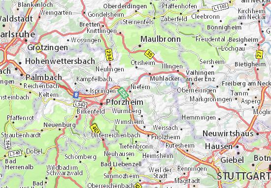 Mappe-Piantine Niefern-Öschelbronn