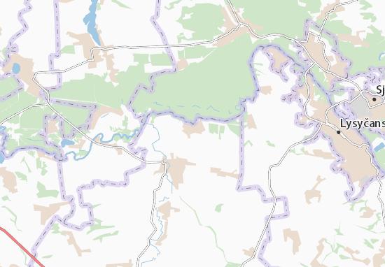 Serebryanka Map