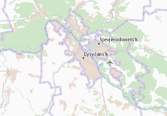 Mappe-Piantine Lysyčans'k