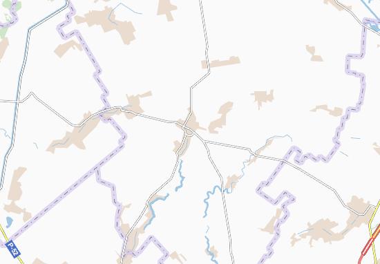 Mahdalynivka Map