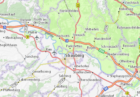 Parkstetten Map